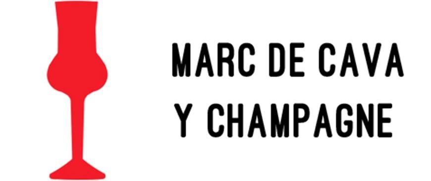 Marc de Cava y Champagne